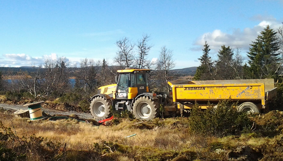 Traktor fra Kvarberg AS